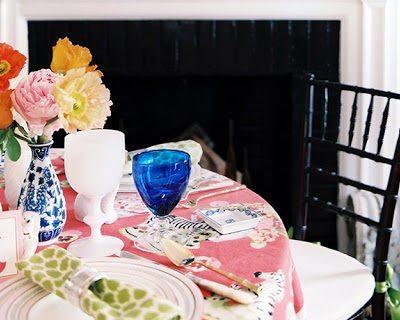 Gorgeous Winter Fireside Fete in Lonny Magazine