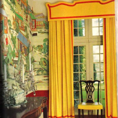 Hand Painted Chinoiserie Dining Rooms