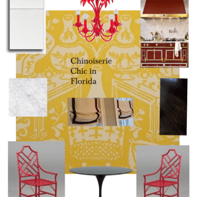 Chinoiserie Chic in Florida: The Kitchen