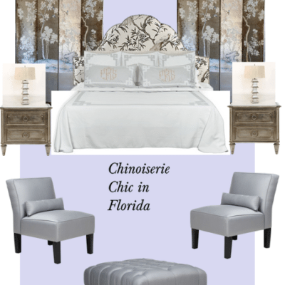 Chinoiserie Chic in Florida: The Master Bedroom
