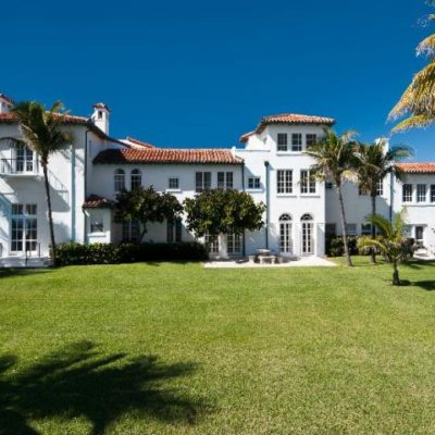 Gatsby-Era Oceanfront Masterpiece for Sale in Palm Beach