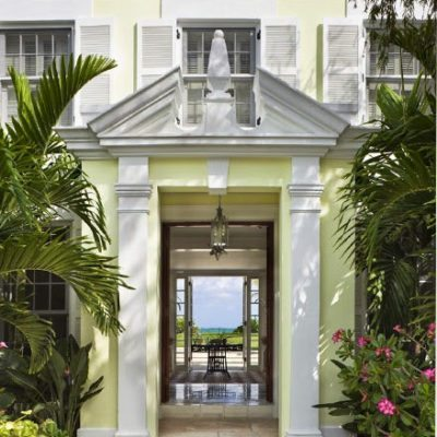 Laura Ashley's Former Lyford Cay Beach House, Transformed