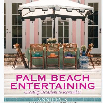 Palm Beach Entertaining, Mario Buatta, and a Pagoda Pool House