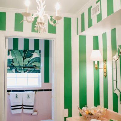 A Beverly Hills Hotel Inspired Bathroom: By Bailey McCarthy