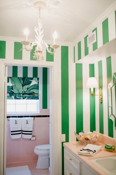 A Beverly Hills Hotel Inspired Bathroom By Bailey