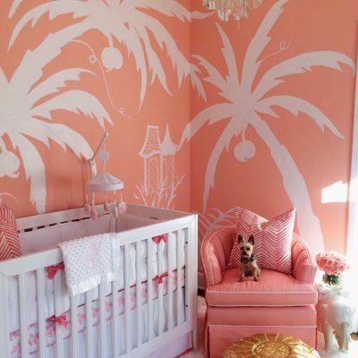 A Nursery for a Palm Beach Princess