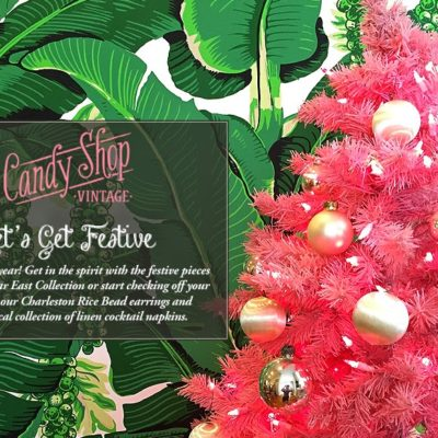 A Candy Shop Vintage Christmas
