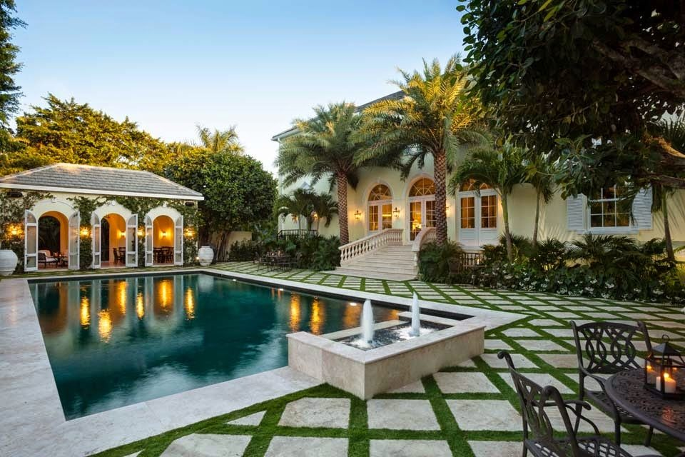 Lakeview house palm beach - Palm beach pool ...