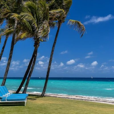 An Oceanfront Palm Beach Paradise for Sale