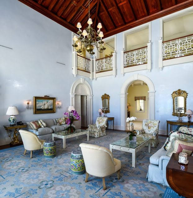 Palm Beach Chic In Miami: An Oceanfront Palm Beach Paradise For Sale