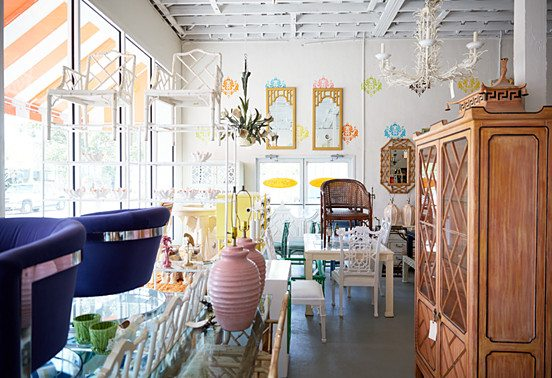 Antiquing palm beach style the glam pad for Palm beach home and design show