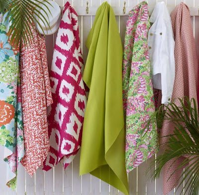Lee Jofa and Lilly Pulitzer Introduce New Fabrics and Wall Coverings
