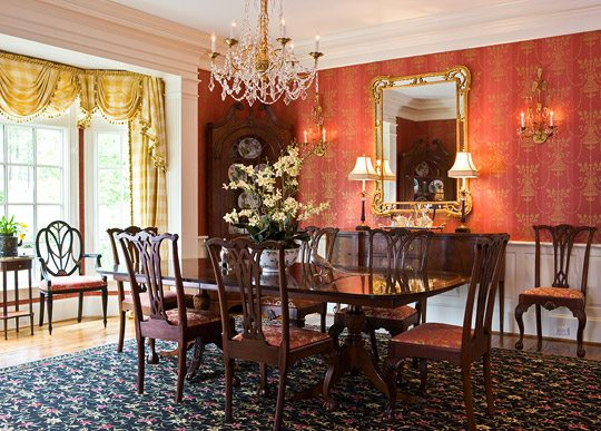 A Colorful And Traditional Southern Home The Glam Pad