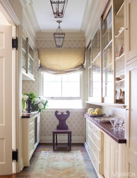 Amelia handegan revives a 19th century greek revival the for Roman pantry