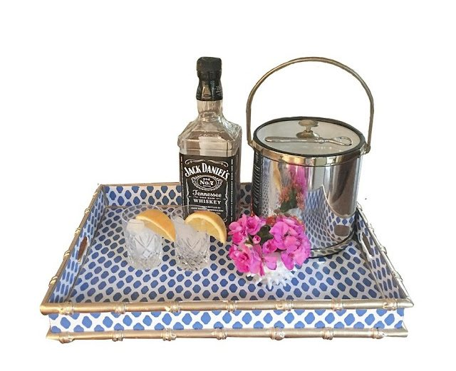 Parsi Serving Tray Bamboo The Glam Pad