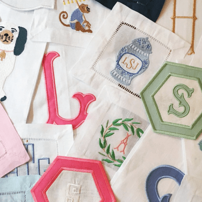 Custom Embroidered Linens and Gifts
