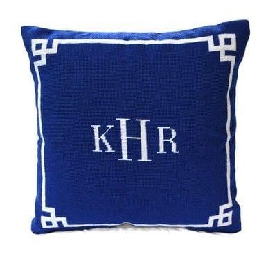 Custom Needlepoint Pillow