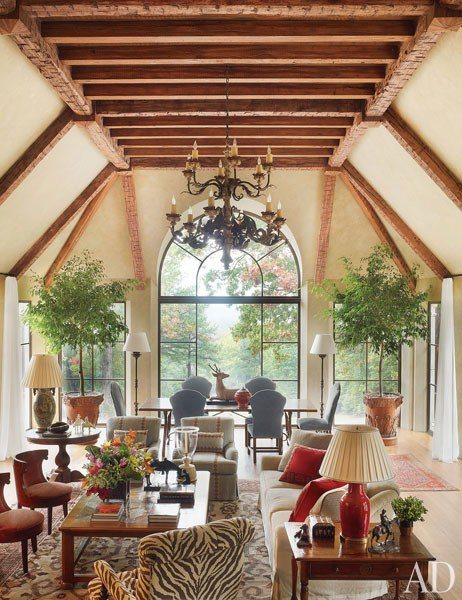 Bunny Williams Decorates A Classic Virginia House The