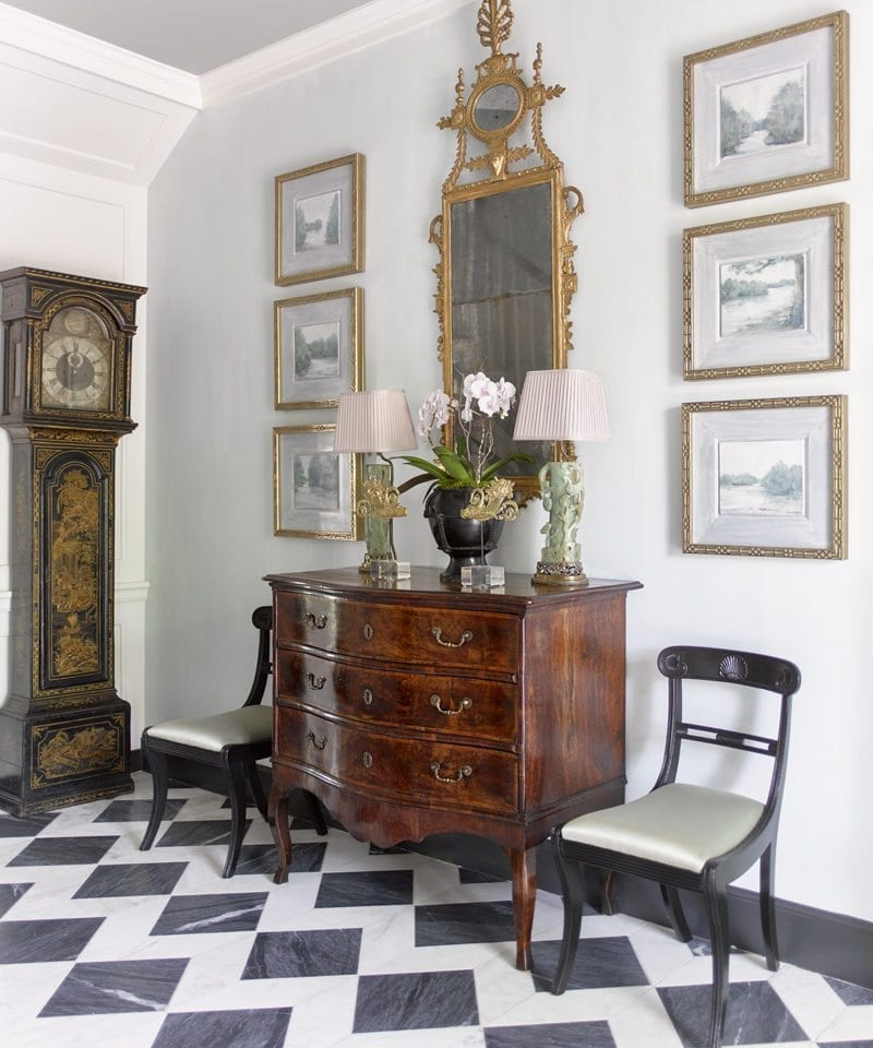 Welcoming Intimate Showhouse Kitchen: April Musings: From The Southeastern Designer Showhouse To