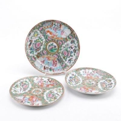 Rose Medallion Plates