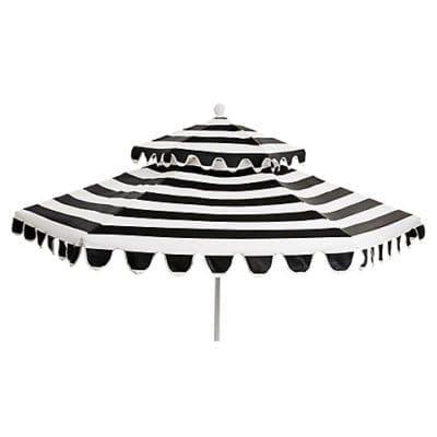Scalloped Patio Umbrella