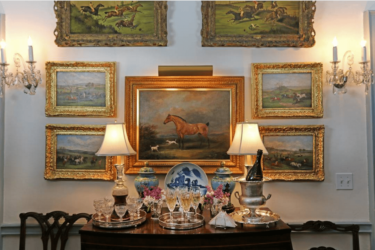Traditional Equestrian Art The Glam Pad