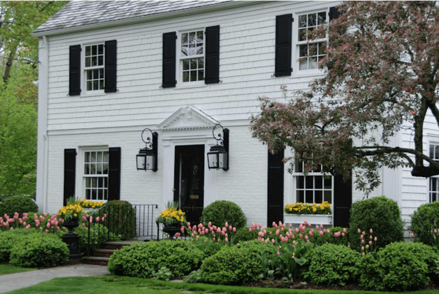Classic new england homes home design inspiration for New classic homes