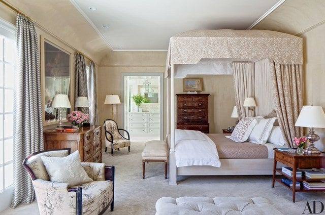 A classic colonial revival by miles redd the glam pad for The master bedroom tessa hadley