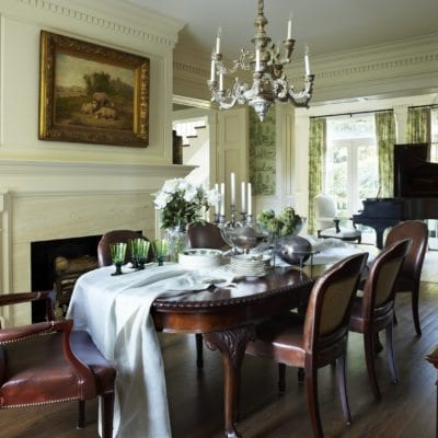 An English-Inspired East Hampton Home by Jack Fhillips