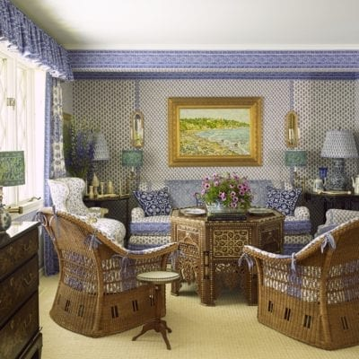 Laura and Harry Slatkin's Sumptious Hamptons Cottage