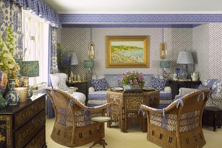 Laura and Harry Slatkin's Sumptious Hamptons Cottage