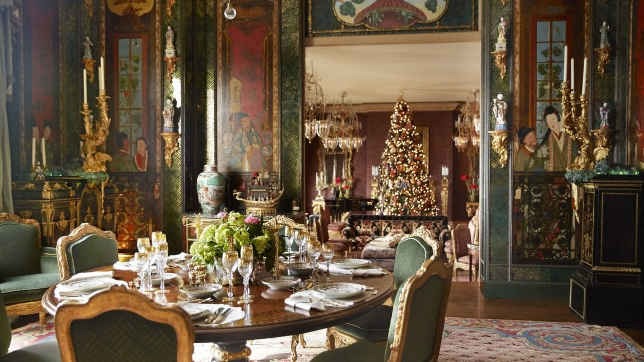 Gilded Christmas Elegance By Ann Getty The Glam Pad