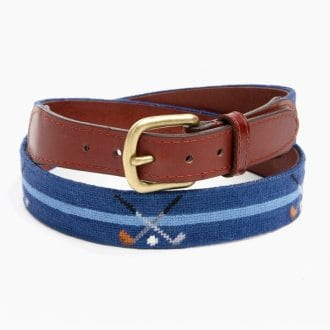 Needlepoint Belts