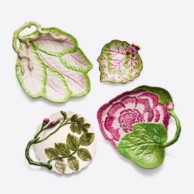 Tory Burch Leaf Plates