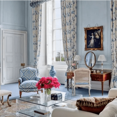 Mark Gillette Refreshes a 300-year-old English Manor