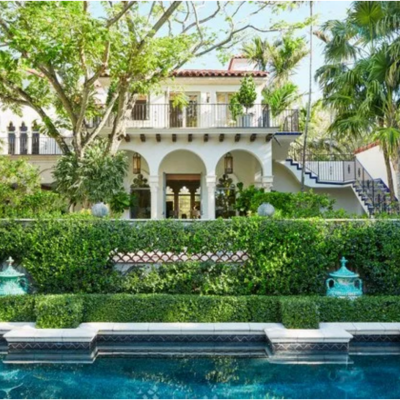 Jacques Grange refreshes a 1930s Palm Beach House