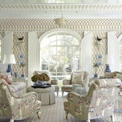 A 1920s Dallas Tudor Restored by Cathy Kincaid and Wilson Fuqua