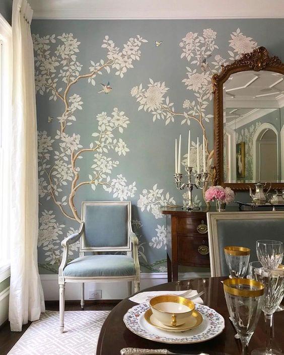 Gracie Wallpaper Chinoiserie Stark Carpet Deborah Hensley Interiors The Glam Pad