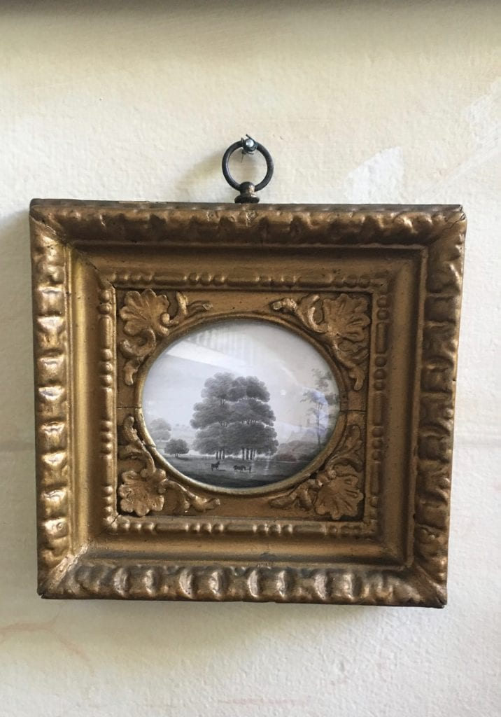 john-m-field-british-artist-silhouette-gilt-framed