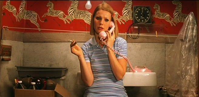 margot-royal-tenenbaums-scalamandre-zebras-dancing-arrows-bathroom-retro-pink-telephone-power-of-pattern