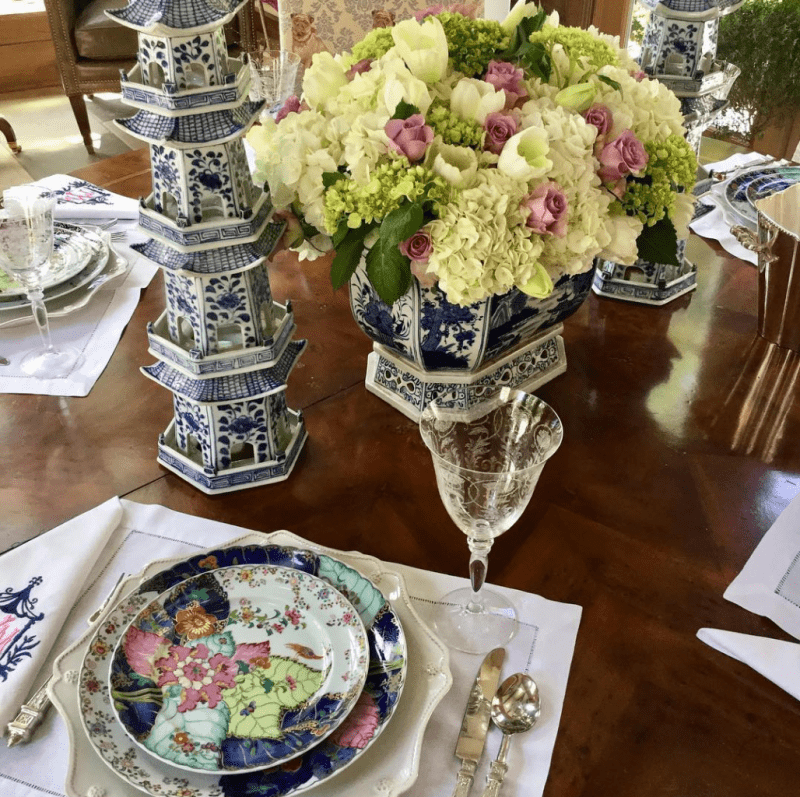 patricia-altschul-luzanne-otte-isaac-jenkins-mikell-house-charleston-mottahedeh-tobacco-leaf-the-enchanted-home