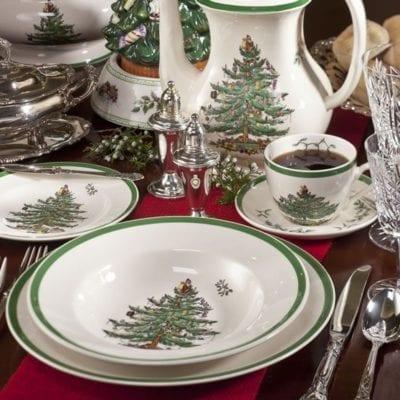 Christmas Tree Spode, A Holiday Tradition