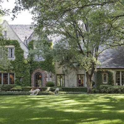 A Romantic English Manor in Dallas