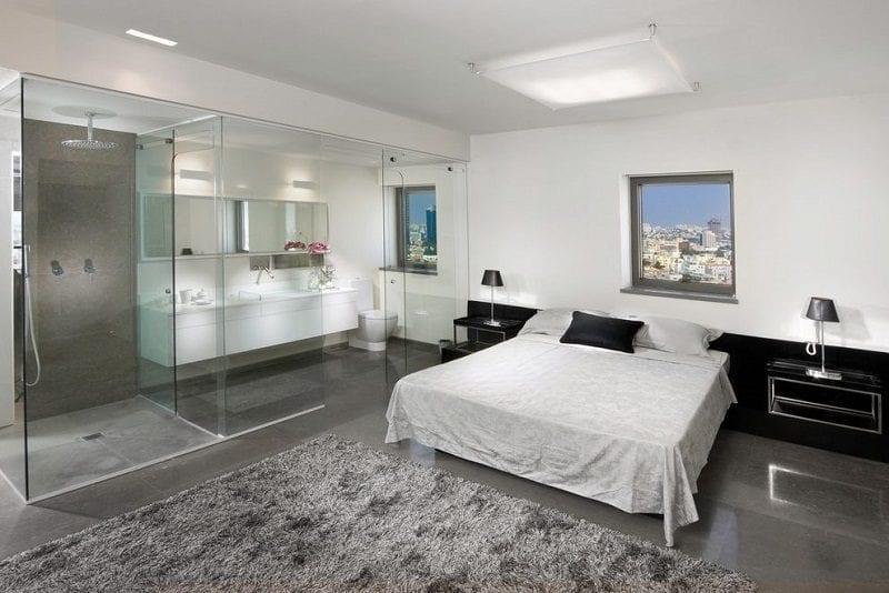 Design Nightmare The Open Concept Bathroom Bedroom The Glam Pad