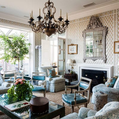 Timeless Classic: Decorating with Treillage