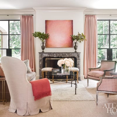 A Romantic French Style Home by Courtney Giles