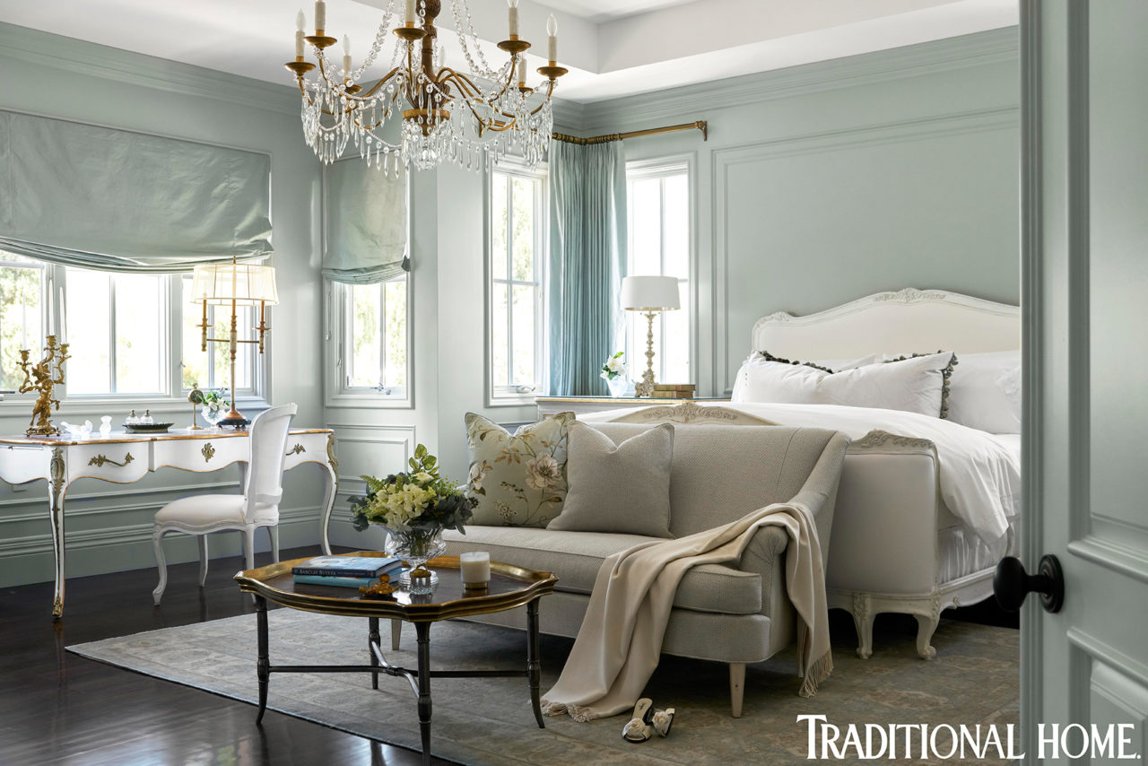 Barclay Butera Newport Beach Traditional Home blue bedroom   The ...