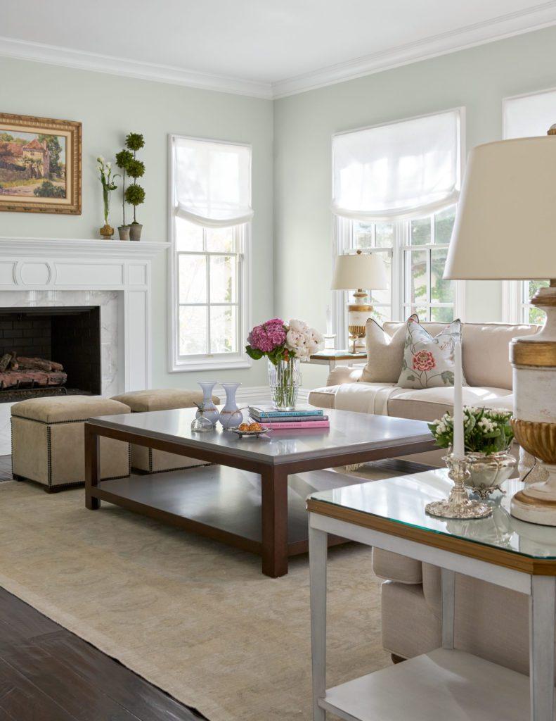Barclay Butera Newport Beach Traditional Home family room   The ...