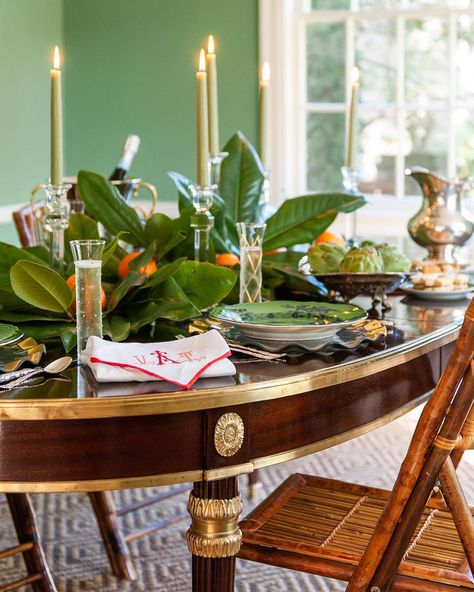 Tori Alexander Christmas Tablescape The Glam Pad