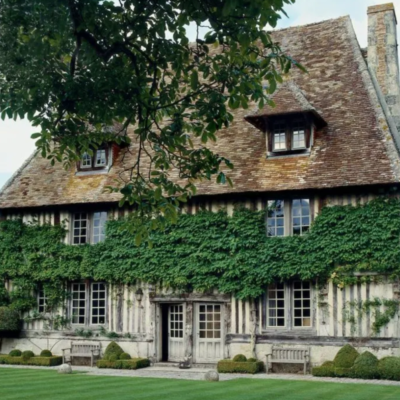 A Meticulously Restored Normandy Manor